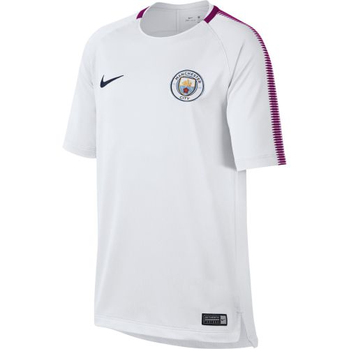 Manchester City Squad Training Top - White - Kids