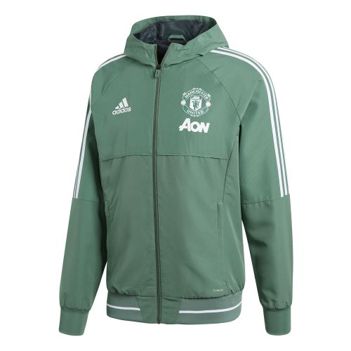 Manchester United Training Presentation Jacket - Green