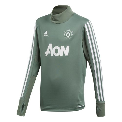 Manchester United Training Top - Green - Kids