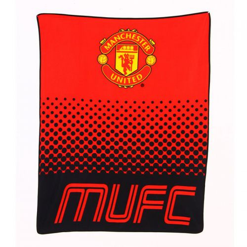 Одеяло MANCHESTER UNITED Fleece Blanket FA