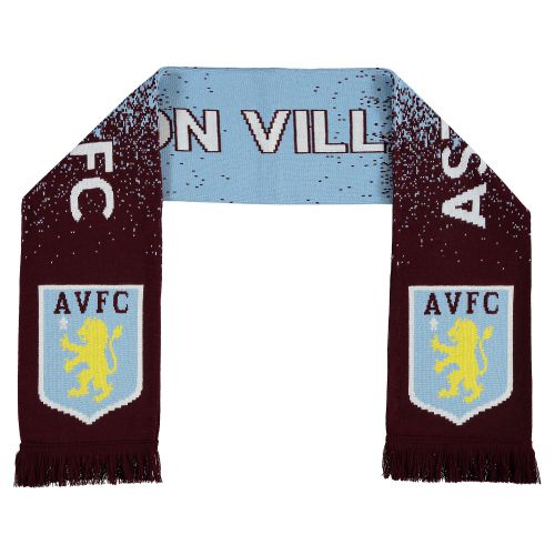 Aston Villa Speckled Jacquard Scarf