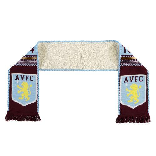 Aston Villa Fleece Backed Scarf