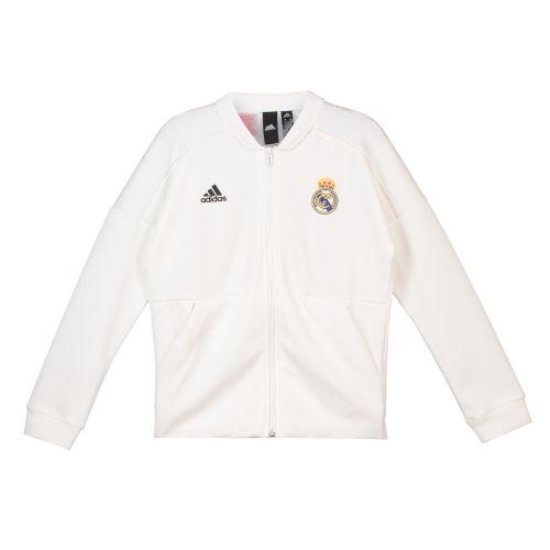 Real Madrid ZNE Home Anthem Jacket - White - Kids