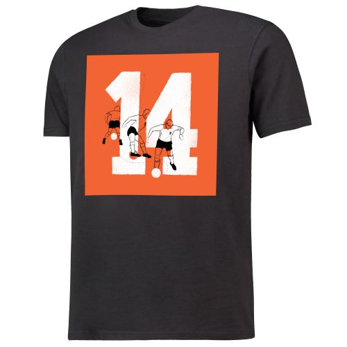 Mundial Cruyffs 3 Point Turn T-Shirt - Black
