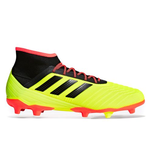 adidas Predator 18.2 Firm Ground Football Boots - Yellow