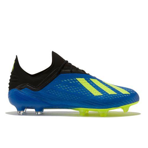 adidas X 18.1 Firm Ground Football Boots - Blue