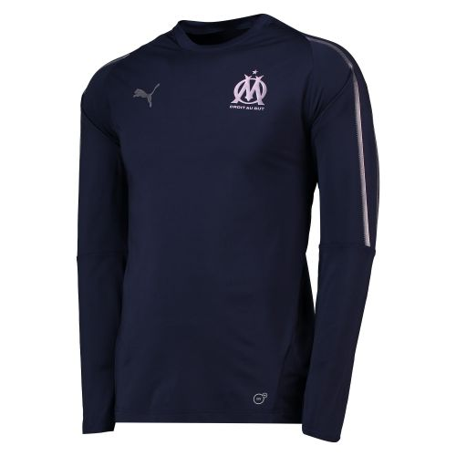 Olympique de Marseille Training Sweatshirt - Dark Blue