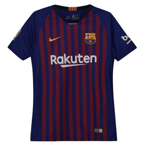 Barcelona Home Vapor Match Shirt 2018-19 - Kids with Suárez 9 printing