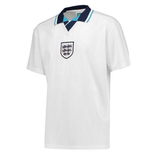 England 1996 European Championship Shirt with Alan Shearer 9 printing