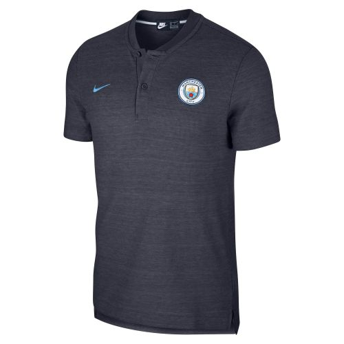 Manchester City Authentic Grand Slam Polo - Dark Blue