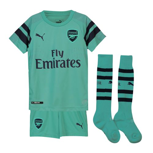 Arsenal Third Mini Kit 2018-19 with Bellerin 24 printing