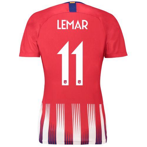 Atlético de Madrid Home Cup Stadium Shirt 2018-19 - Womens with Lemar 11 printing
