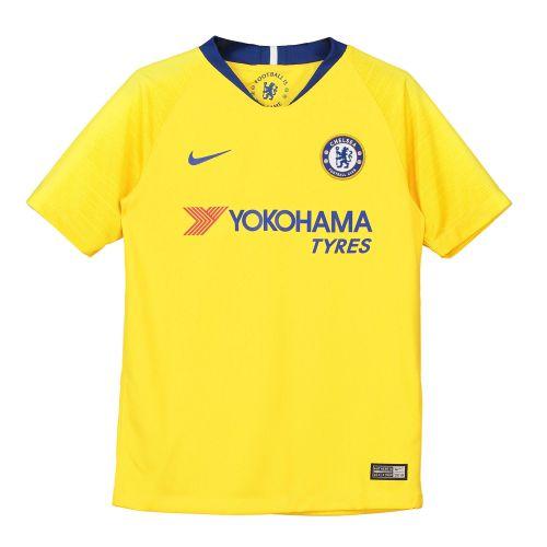 Chelsea Away Stadium Shirt 2018-19 - Kids with Giroud 18 printing