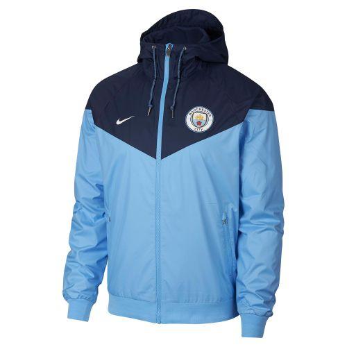 Manchester City Authentic Windrunner - Light Blue