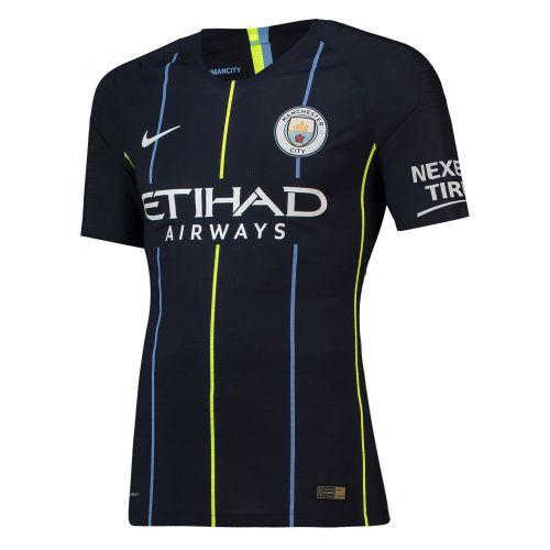 Manchester City Away Vapor Match Shirt 2018-19 with Laporte 14 printing