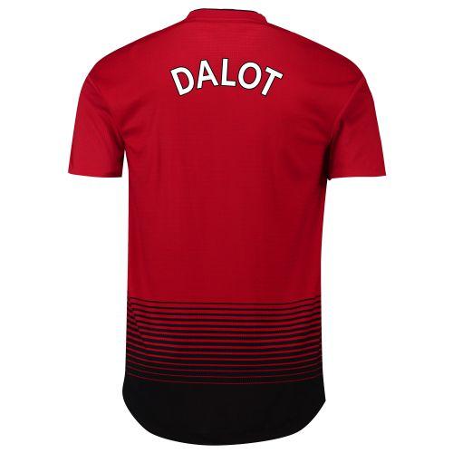Manchester United Home Adi Zero Shirt 2018-19 with Dalot TBC printing