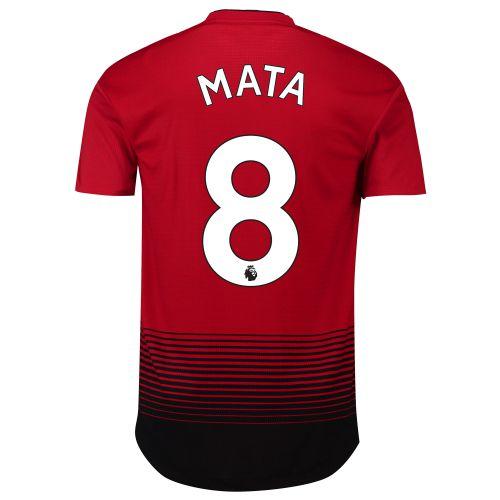 Manchester United Home Adi Zero Shirt 2018-19 with Mata 8 printing