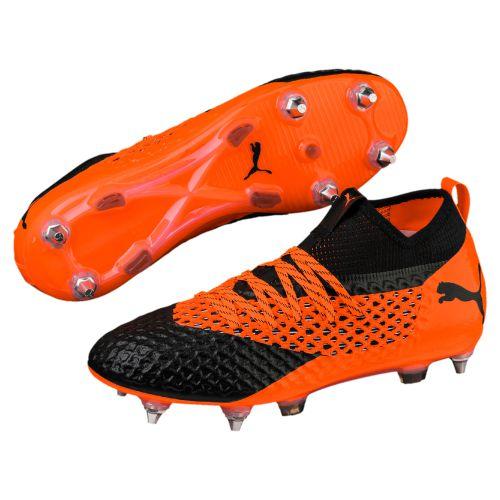 Puma Future 2.2 Netfit Soft Ground Football Boots - Orange