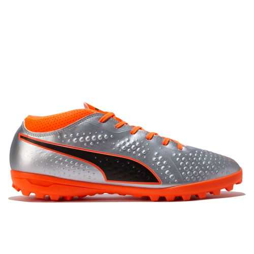 Puma One 4 Synthetic Astroturf Trainers - Silver