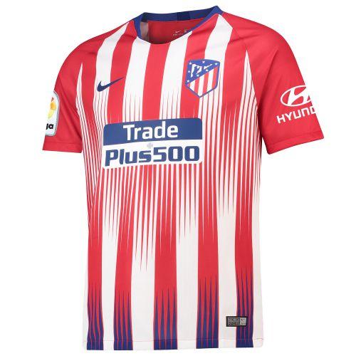 Atlético de Madrid Home Stadium Shirt 2018-19 with Arias 4 printing