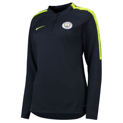 Manchester City Squad Drill Top - Light Blue - Womens