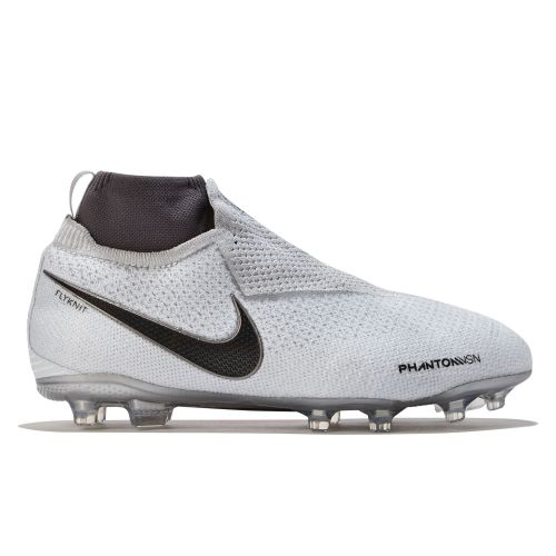 Nike Phantom Vision Elite Dynamic Fit Multi-Ground Football Boots - Grey - Kids