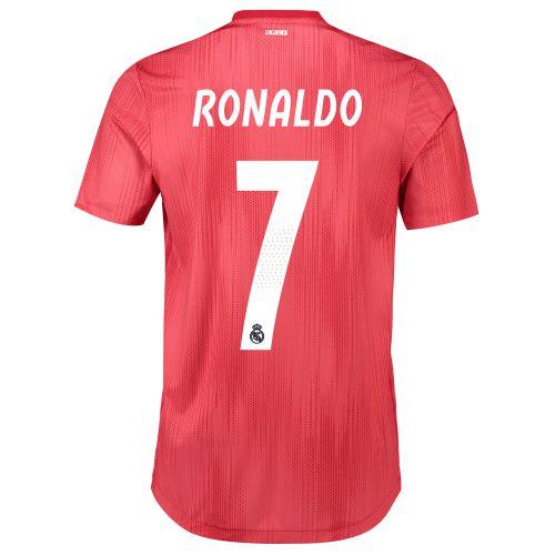 Real Madrid Third Authentic Shirt 2018-19 with Ronaldo 7 printing
