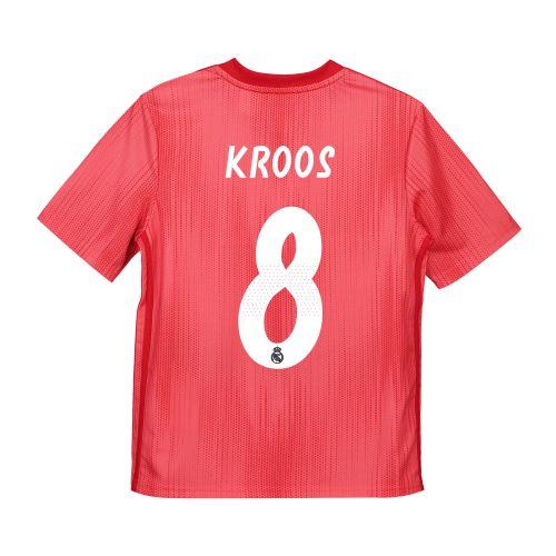 Real Madrid Third Shirt 2018-19 - Kids with Kroos 8 printing
