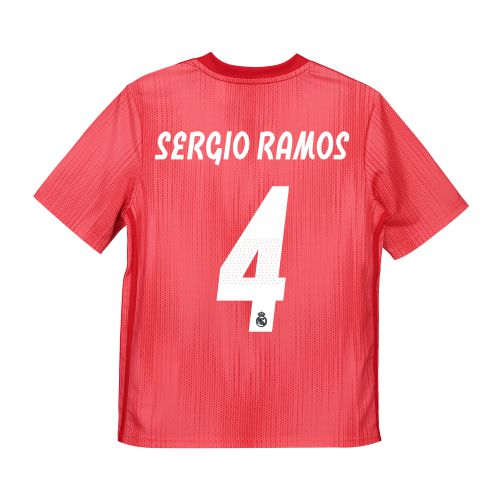Real Madrid Third Shirt 2018-19 - Kids with Sergio Ramos 4 printing