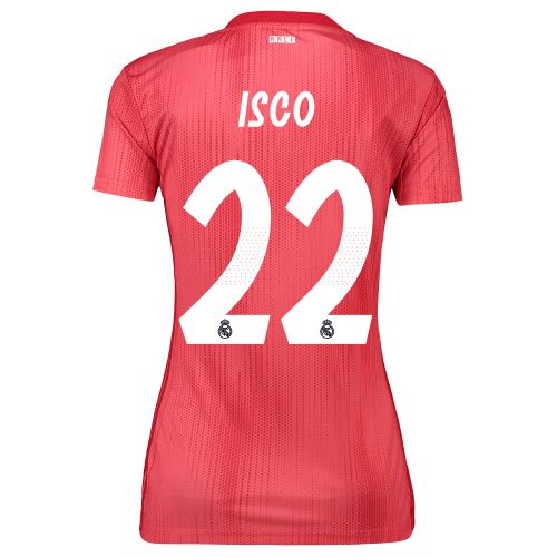 Real Madrid Third Shirt 2018-19 - Womens with Isco 22 printing
