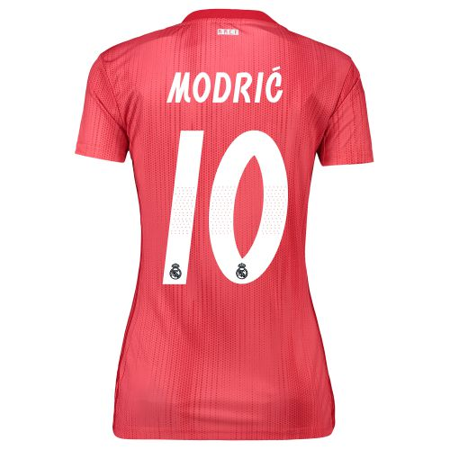 Real Madrid Third Shirt 2018-19 - Womens with Modric 10 printing