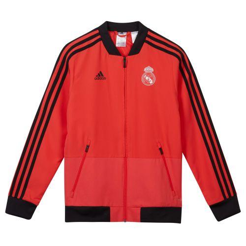 Real Madrid UCL Training Presentation Jacket - Red - Kids