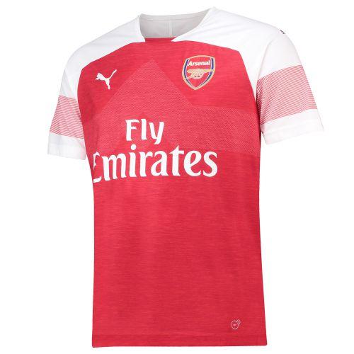 Arsenal Home Shirt 2018-19 - Outsize with Guendouzi 29 printing