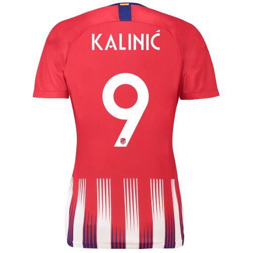 Atlético de Madrid Home Cup Stadium Shirt 2018-19 - Womens with Kalinic 9 printing