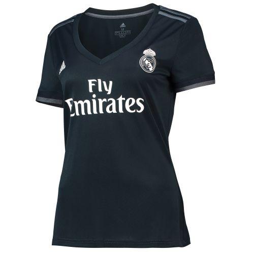 Real Madrid Away Shirt 2018-19 - Womens with Nacho 6 printing