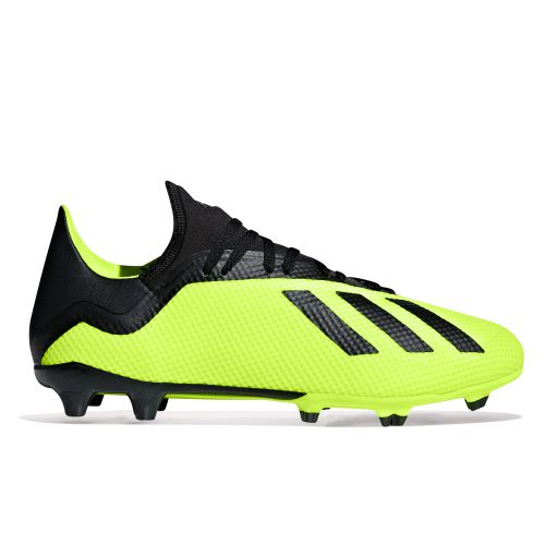 adidas X 18.3 Firm Ground Football Boots - Yellow