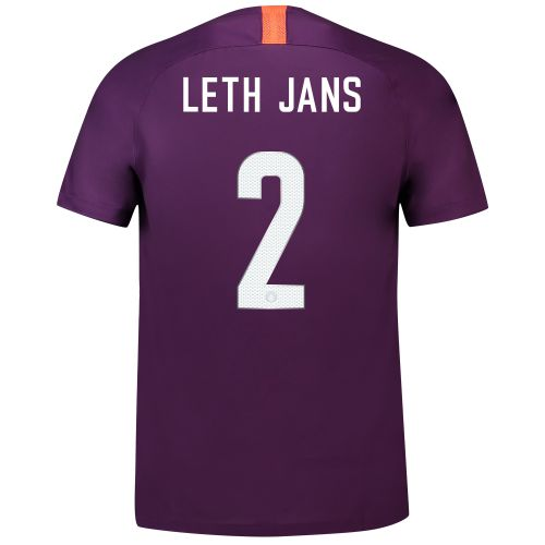 Manchester City Third Cup Stadium Shirt 2018-19 - Kids with Leth Jans 2 printing