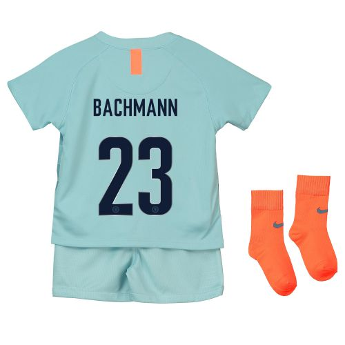 Chelsea Third Cup Stadium Kit 2018-19 - Infants with Bachmann 23 printing