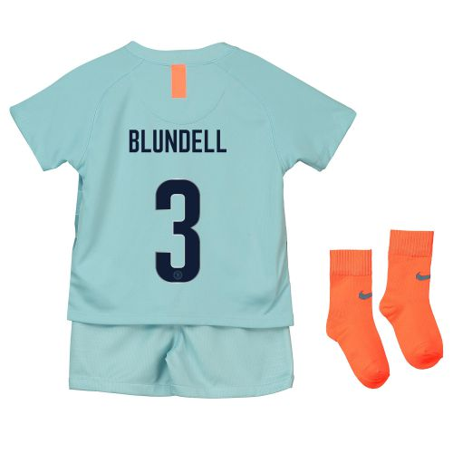 Chelsea Third Cup Stadium Kit 2018-19 - Infants with Blundell 3 printing
