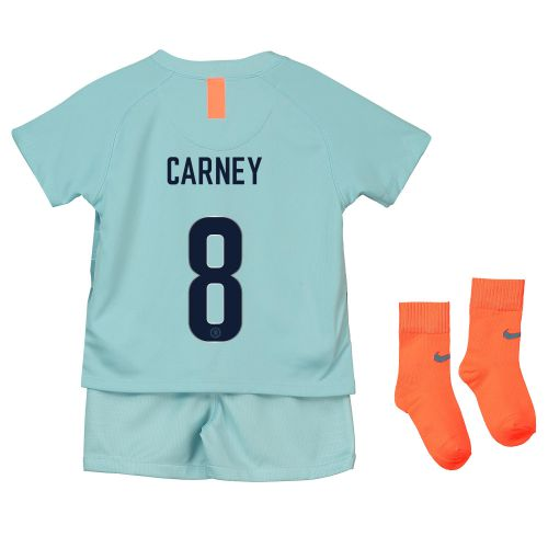 Chelsea Third Cup Stadium Kit 2018-19 - Infants with Carney 8 printing