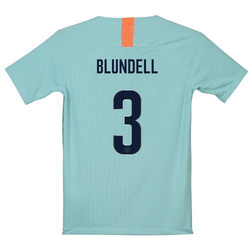 Chelsea Third Cup Stadium Shirt 2018-19 - Kids with Blundell 3 printing