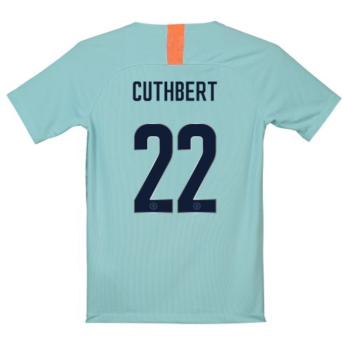 Chelsea Third Cup Stadium Shirt 2018-19 - Kids with Cuthbert 22 printing