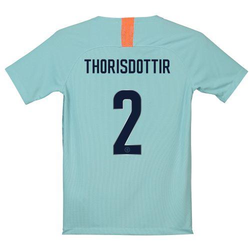 Chelsea Third Cup Stadium Shirt 2018-19 - Kids with Thorisdottir 2 printing