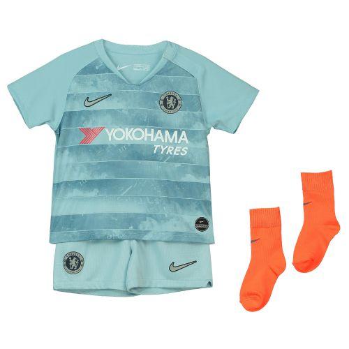 Chelsea Third Stadium Kit 2018-19 - Infants with Hazard 10 printing