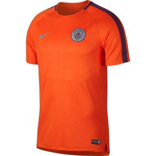 Manchester City Pre Match Top - Orange
