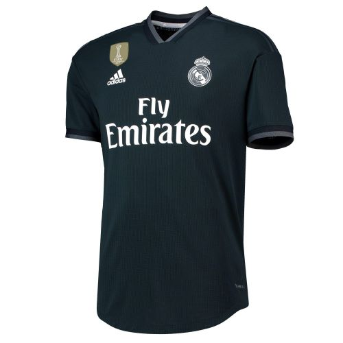 Real Madrid Away Authentic Shirt 2018-19 with Reguilón 23 printing
