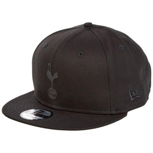 Tottenham Hotspur New Era 9Fifty Slilicone Logo Snapback - Black - Adult