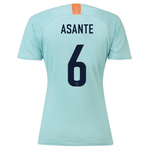 Chelsea Third Cup Stadium Shirt 2018-19 - Womens with Asante 6 printing