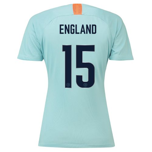 Chelsea Third Cup Stadium Shirt 2018-19 - Womens with England 15 printing