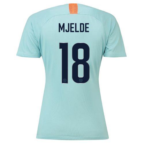 Chelsea Third Cup Stadium Shirt 2018-19 - Womens with Mjelde 18 printing